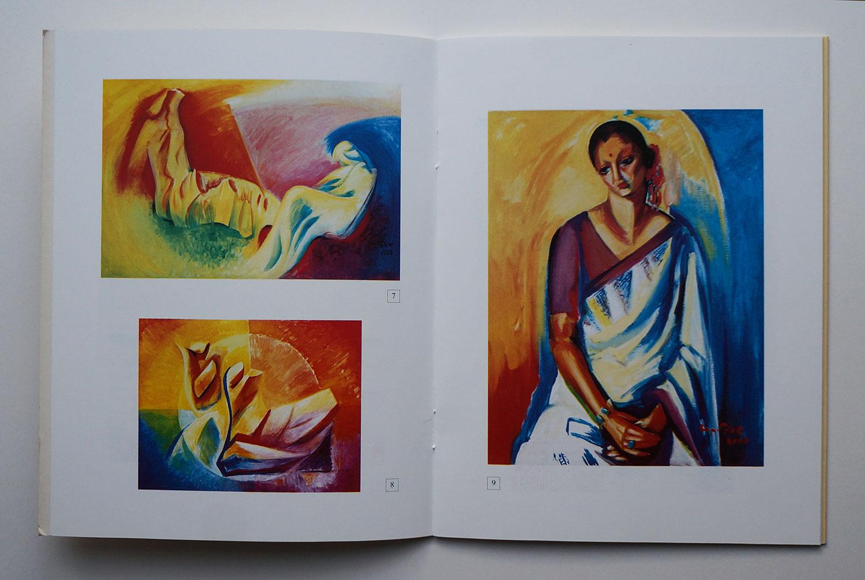 Armine Kalentz catalogue of 2010 solo show in Yerevan Artist House,