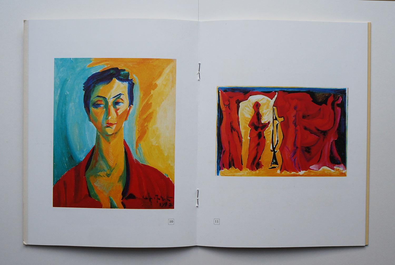 Armine Kalentz, Armine Galentz catalogue of 2010 solo show in Yerevan Artist House, side 8-9