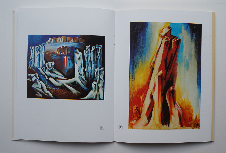 Armine Kalentz, Armine Galentz catalogue of 2010 solo show in Yerevan Artist House, side 12-13