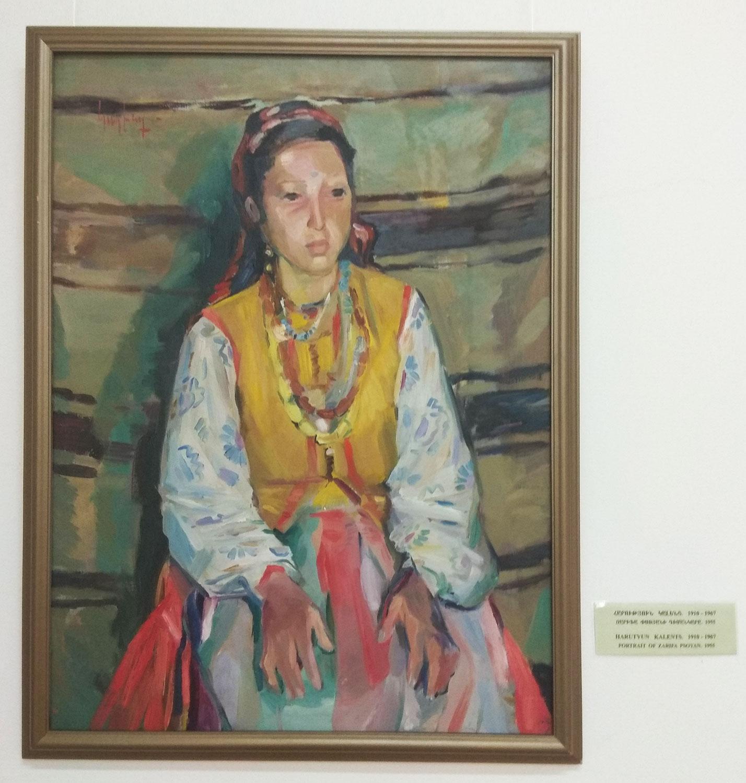 Harutyun Kalentz portrait